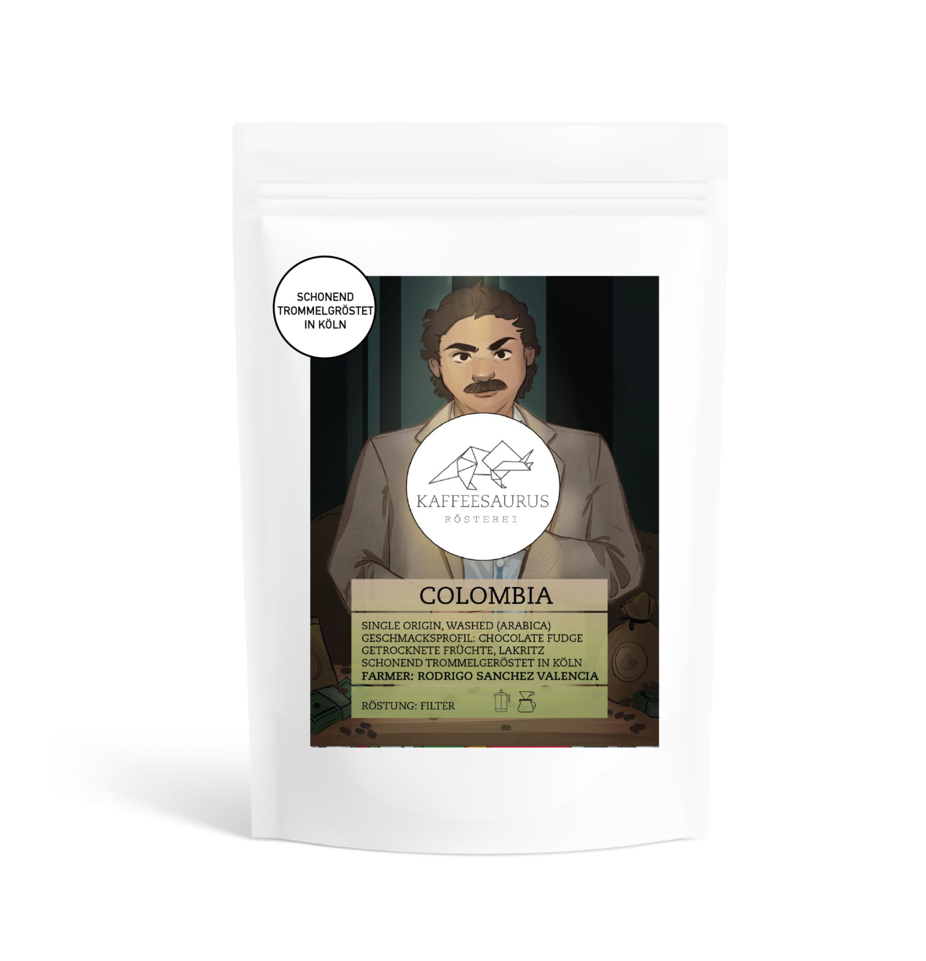 Colombia Filterkaffee Kaffeesaurus